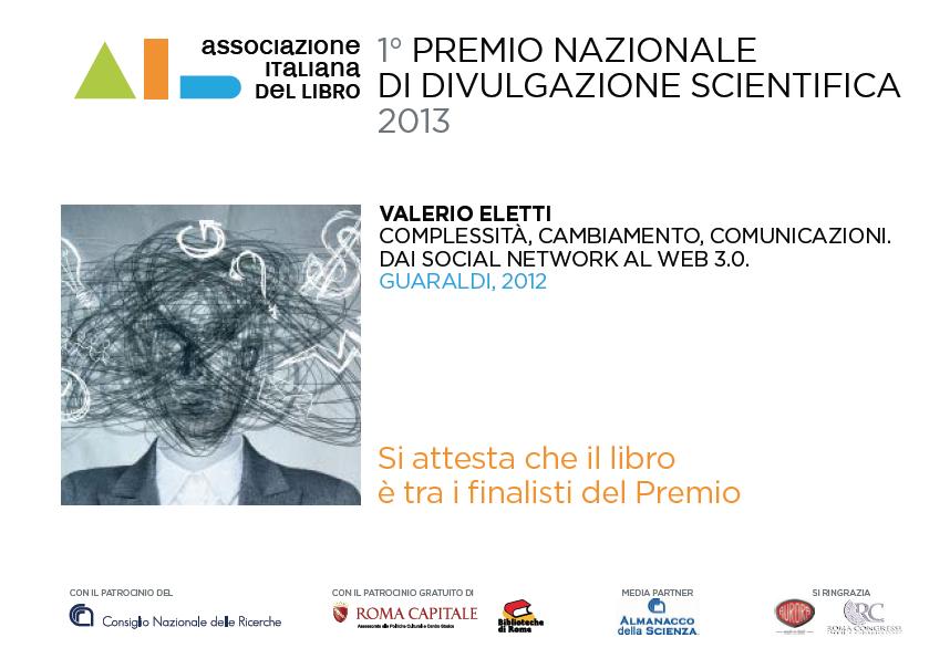 premio nazionale 2013