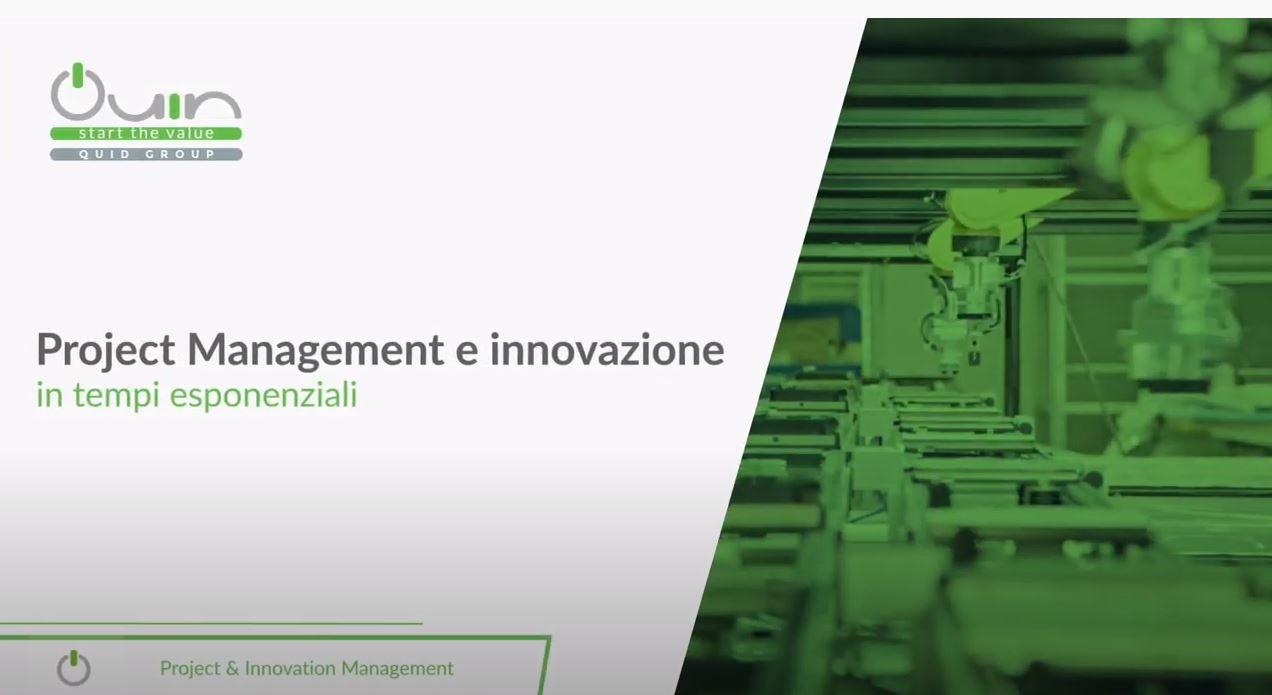 Project management e innovazione in tempi esponenziali